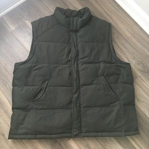 346 Brooks Brothers Military Green Down Vest XL